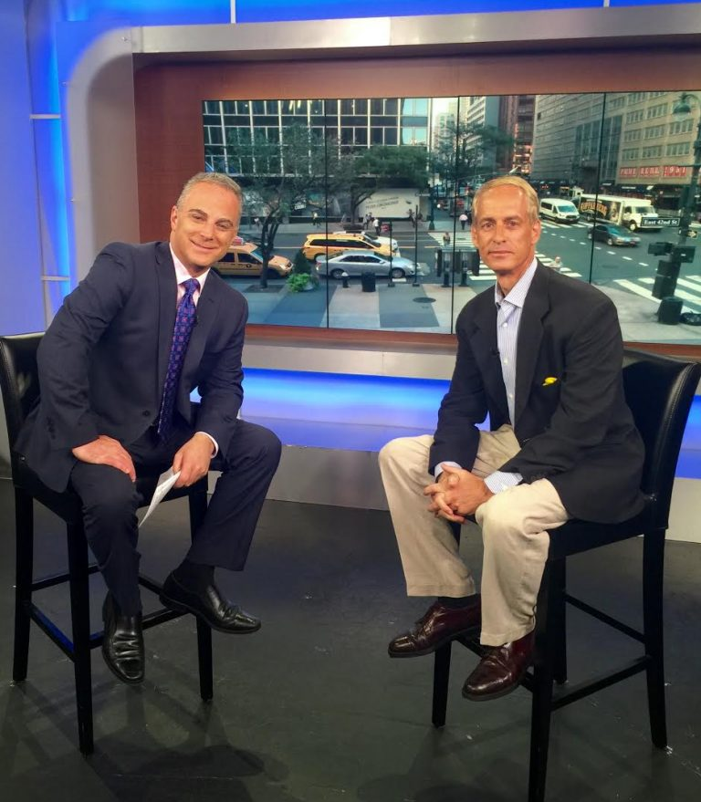 NY hypnotherapist Jeffrey Rose with WPIIX Morning News Scott Stanford